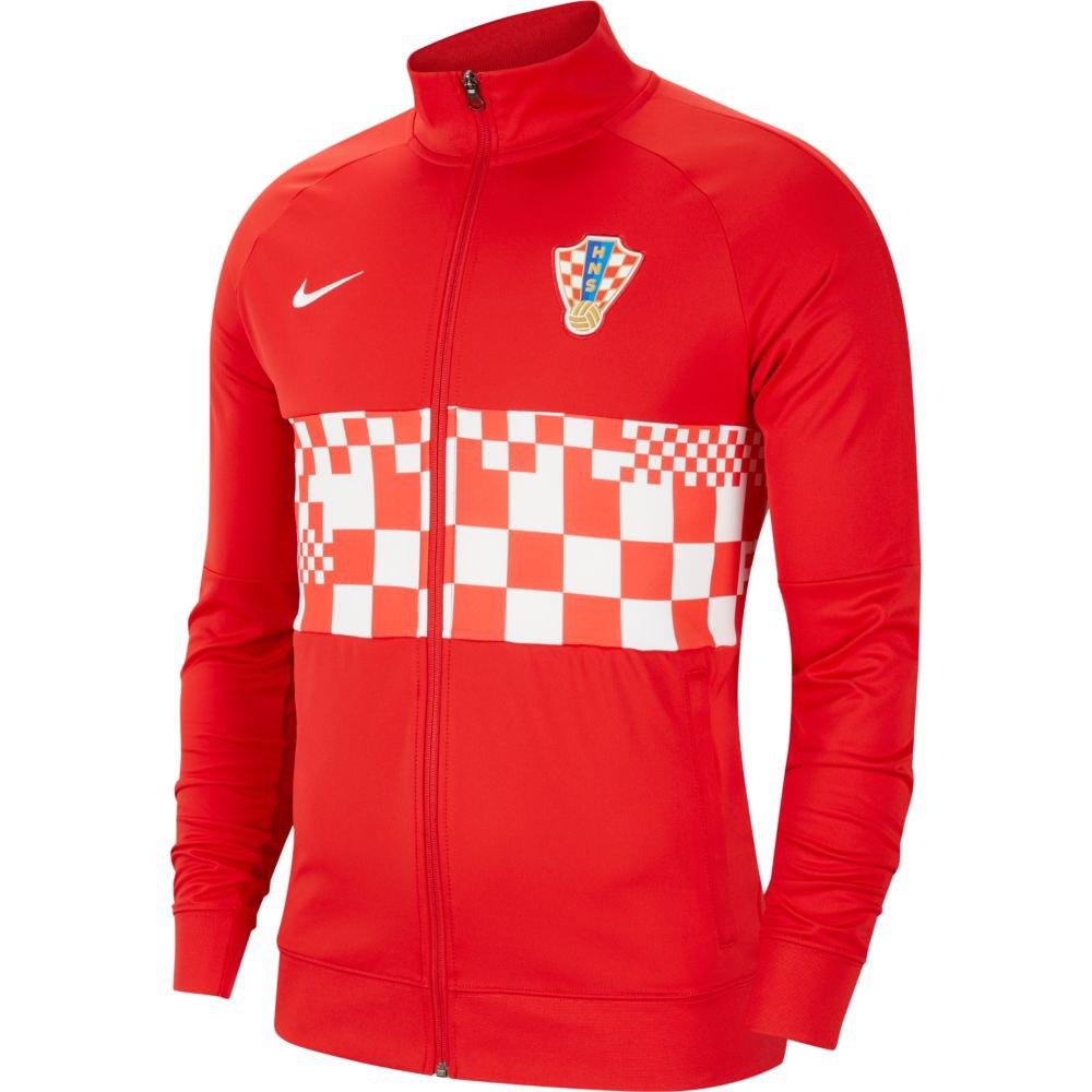 Nike Blouson Croatie I96 Hymne 2020 XS University Red / White / White