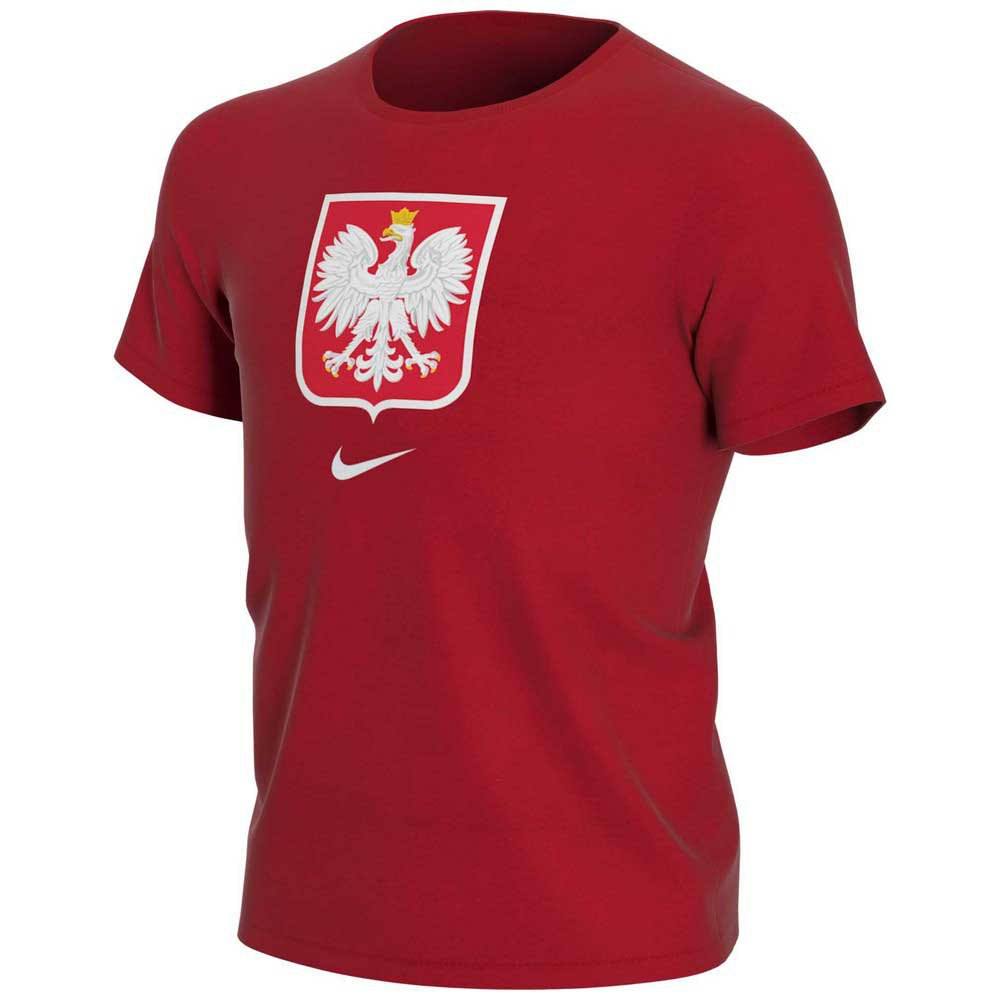 Nike T-shirt Pologne Evergreen Crest S Sport Red