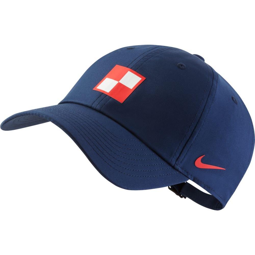 Nike Casquette Croatie Dri Fit Heritage 86 One Size Midnight Navy / Lt Crimson