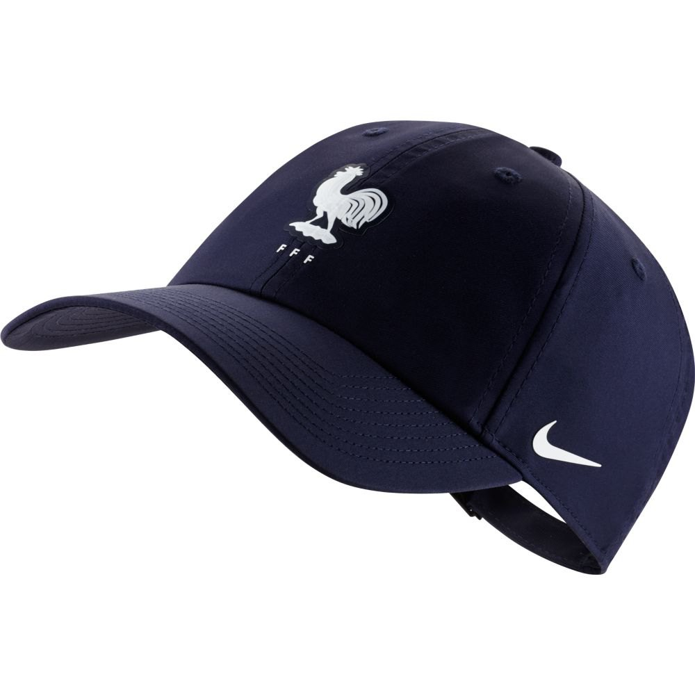 Nike Casquette France Dri Fit Heritage 86 One Size Blackened Blue / White