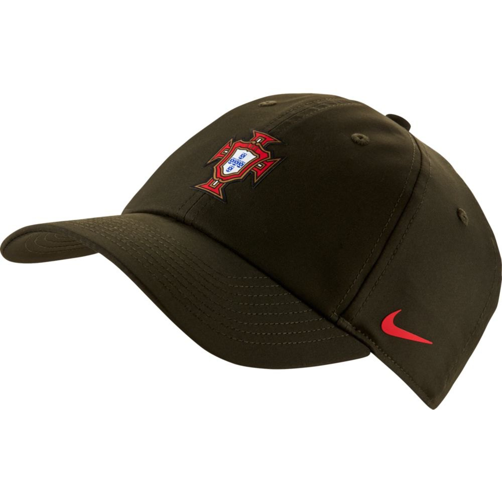 Nike Casquette Portugal Dri Fit Heritage 86 One Size Sequoia / Sport Red