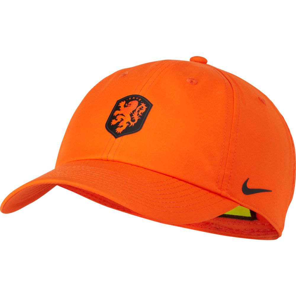 Nike Casquette Knvb Dri Fit Heritage 86 One Size Safety Orange / Black