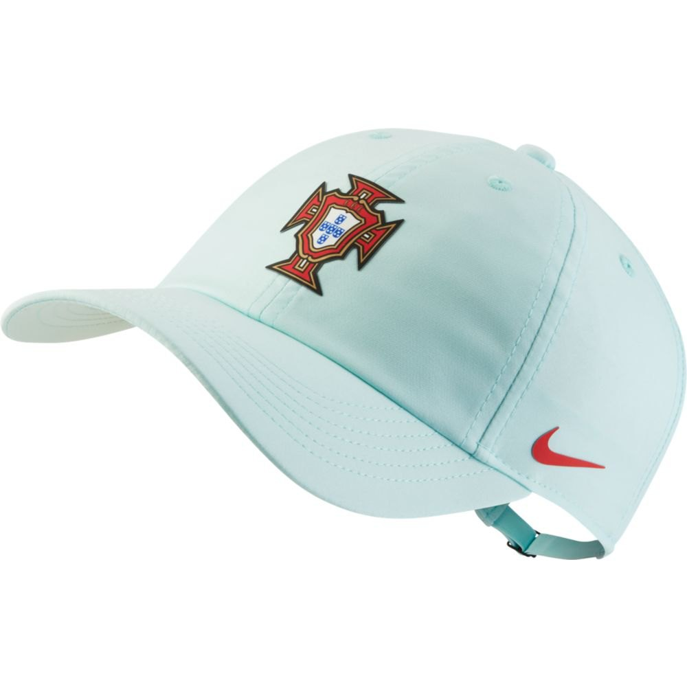 Nike Casquette Portugal Dri Fit Heritage 86 One Size Teal Tint / Sport Red