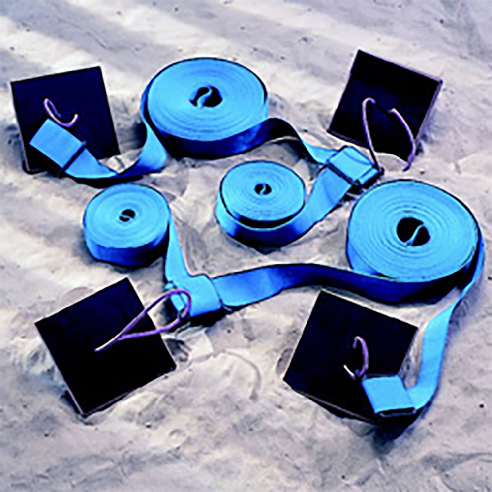 Powershot Beach Soccer Pitch Markers One Size Blue