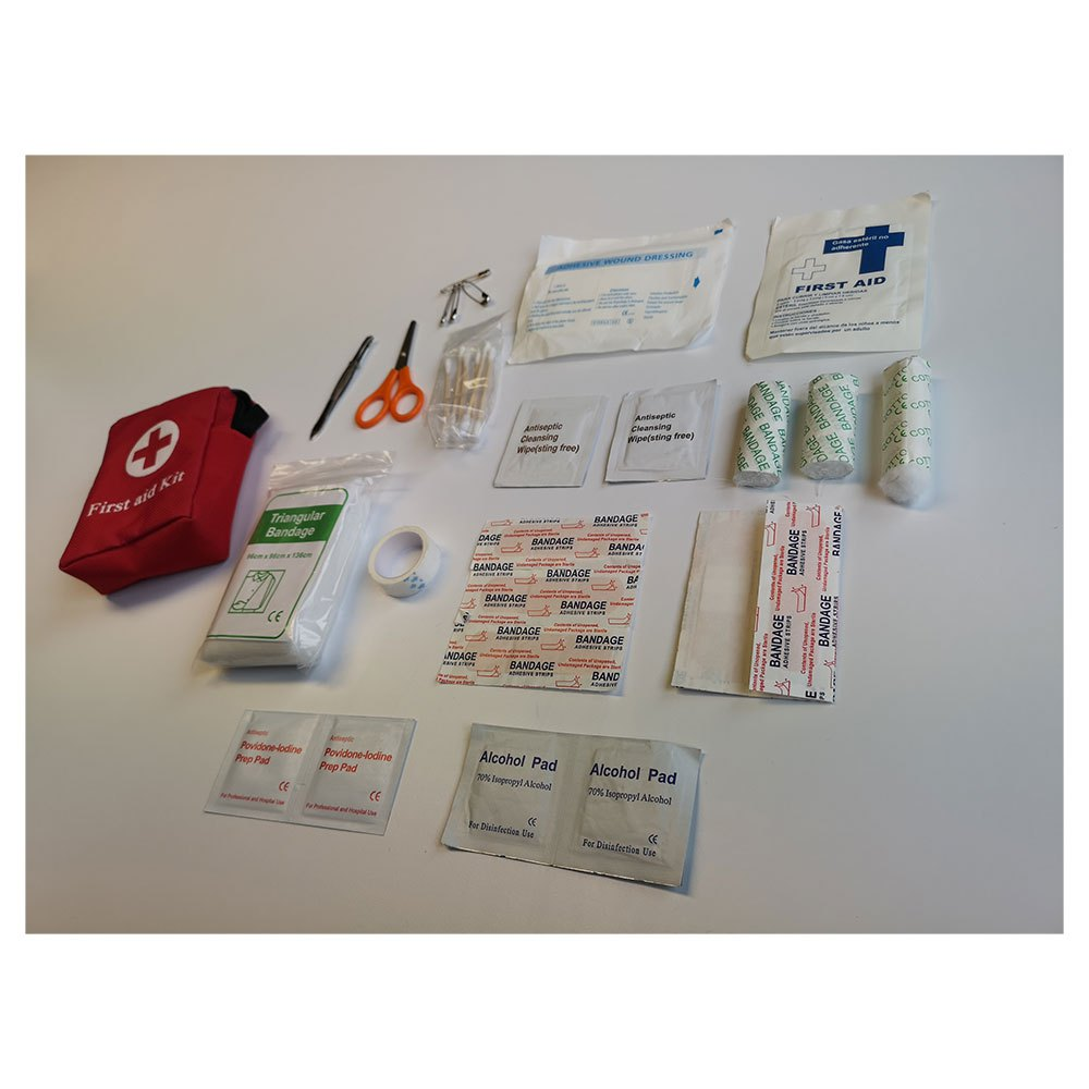 Powershot First Aid Kit One Size Red