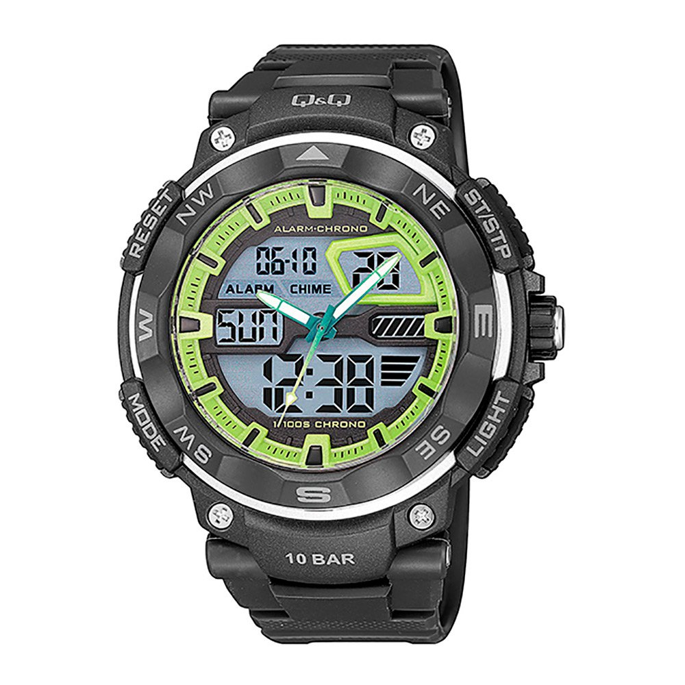 Q&q Relógio Gw85j003y One Size Black - Relógios Relógio Gw85j003y