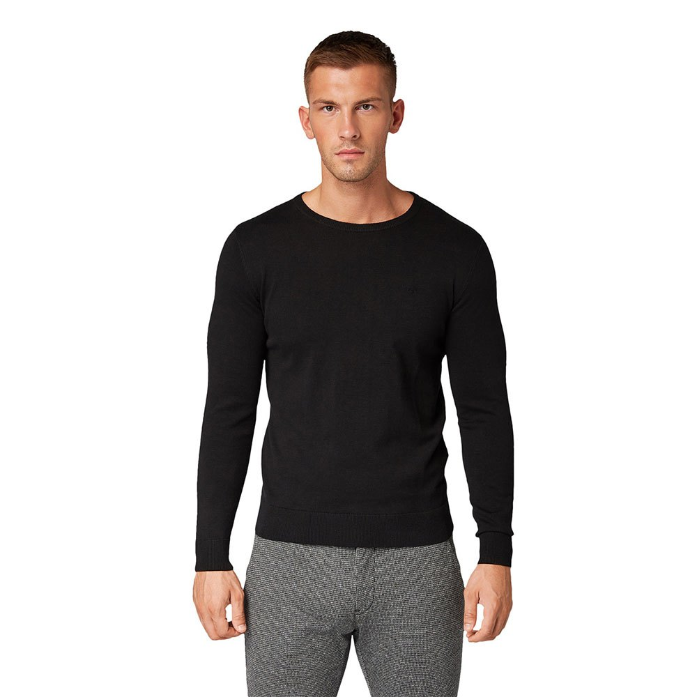 Tom Tailor Simple Knitted M Black