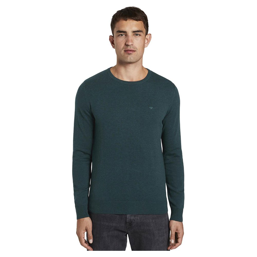 Tom Tailor Simple Knitted XL Sapphire Green Melange