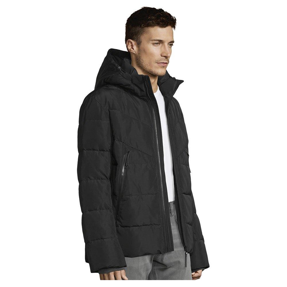 Tom Tailor Heavy Puffer Jacket S Black