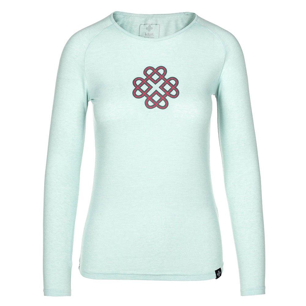 Kilpi Gaia T-shirt Manche Longue 36 Light Blue
