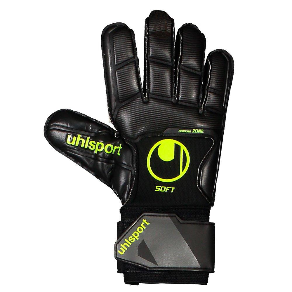 Uhlsport Gants Gardien Soft Pro 6 Black / Fluo Yellow