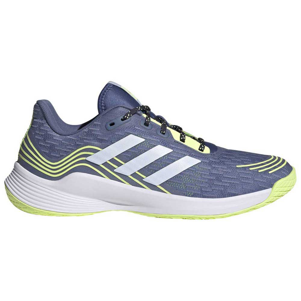 Adidas Badminton Chaussures Indoor Novaflight EU 42 Blue