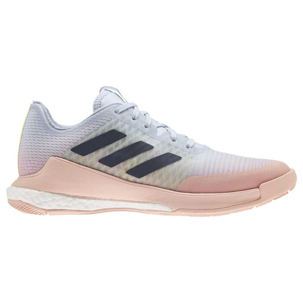 Adidas Badminton Crazyflight EU 39 1/3 Light Blue / Pink