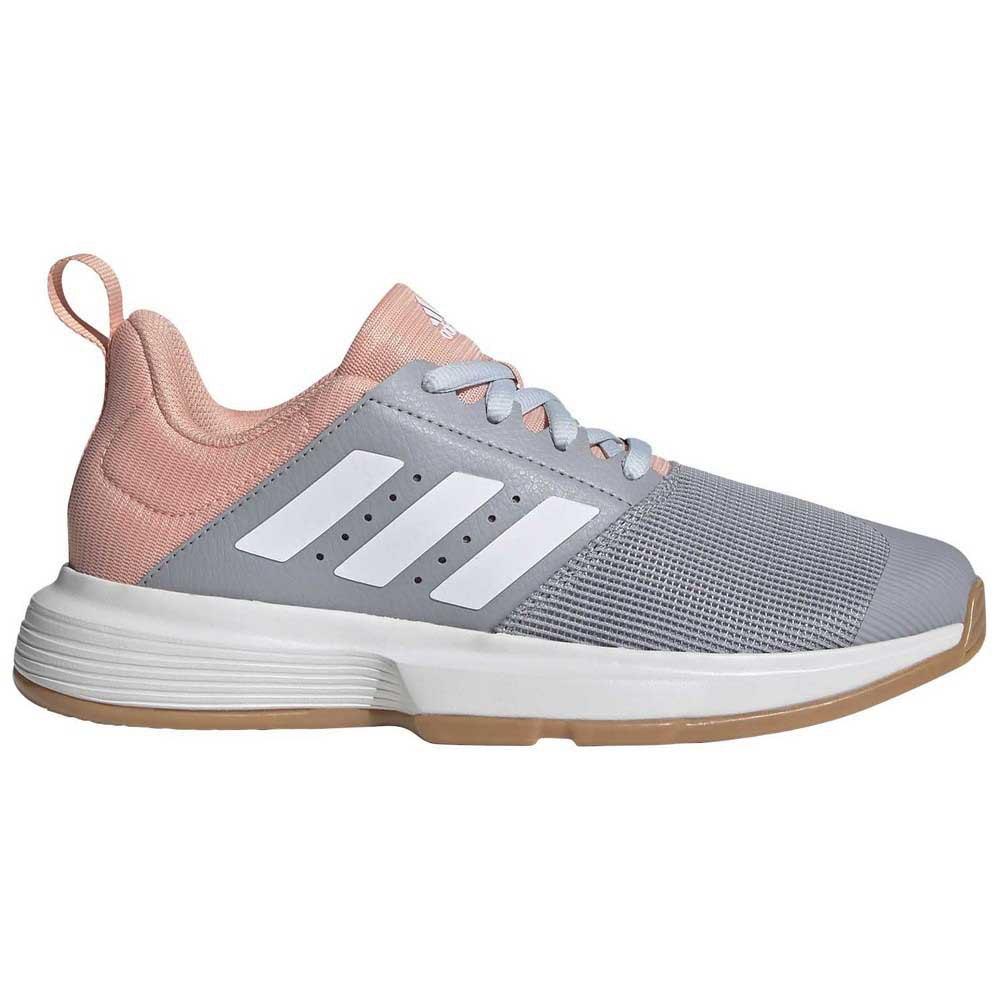 Adidas Badminton Essence EU 39 1/3 Silver / Pink