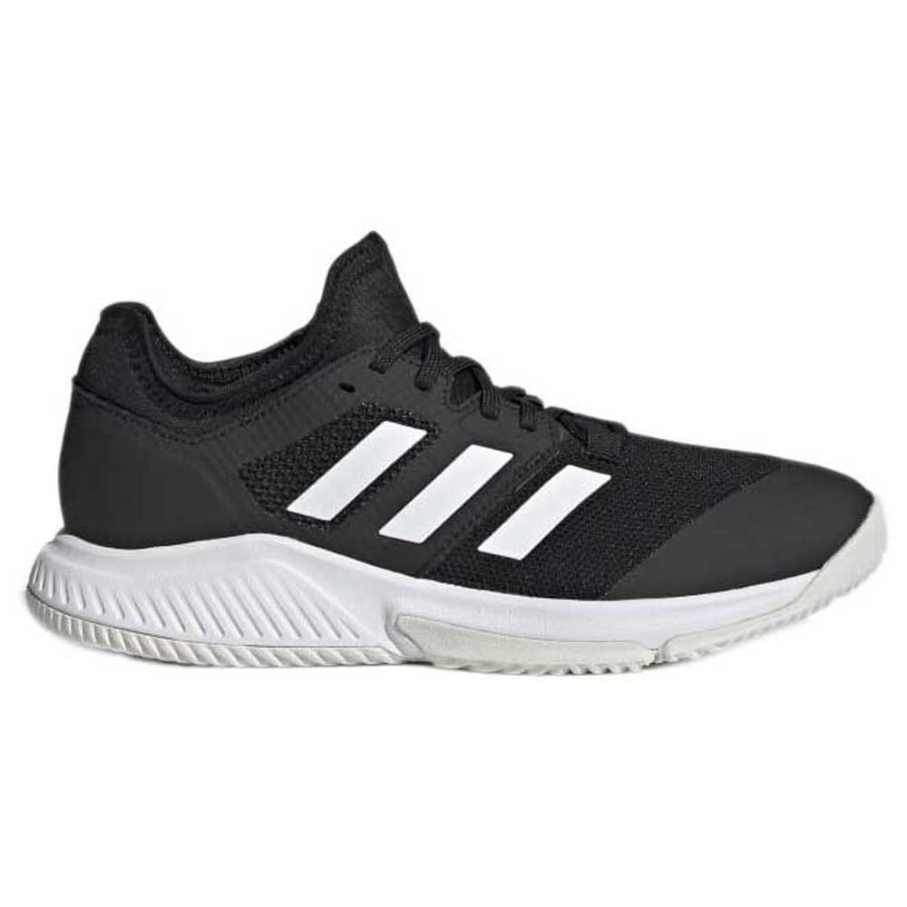 Adidas Badminton Chaussures Court Team Balance EU 37 1/3 Black / White