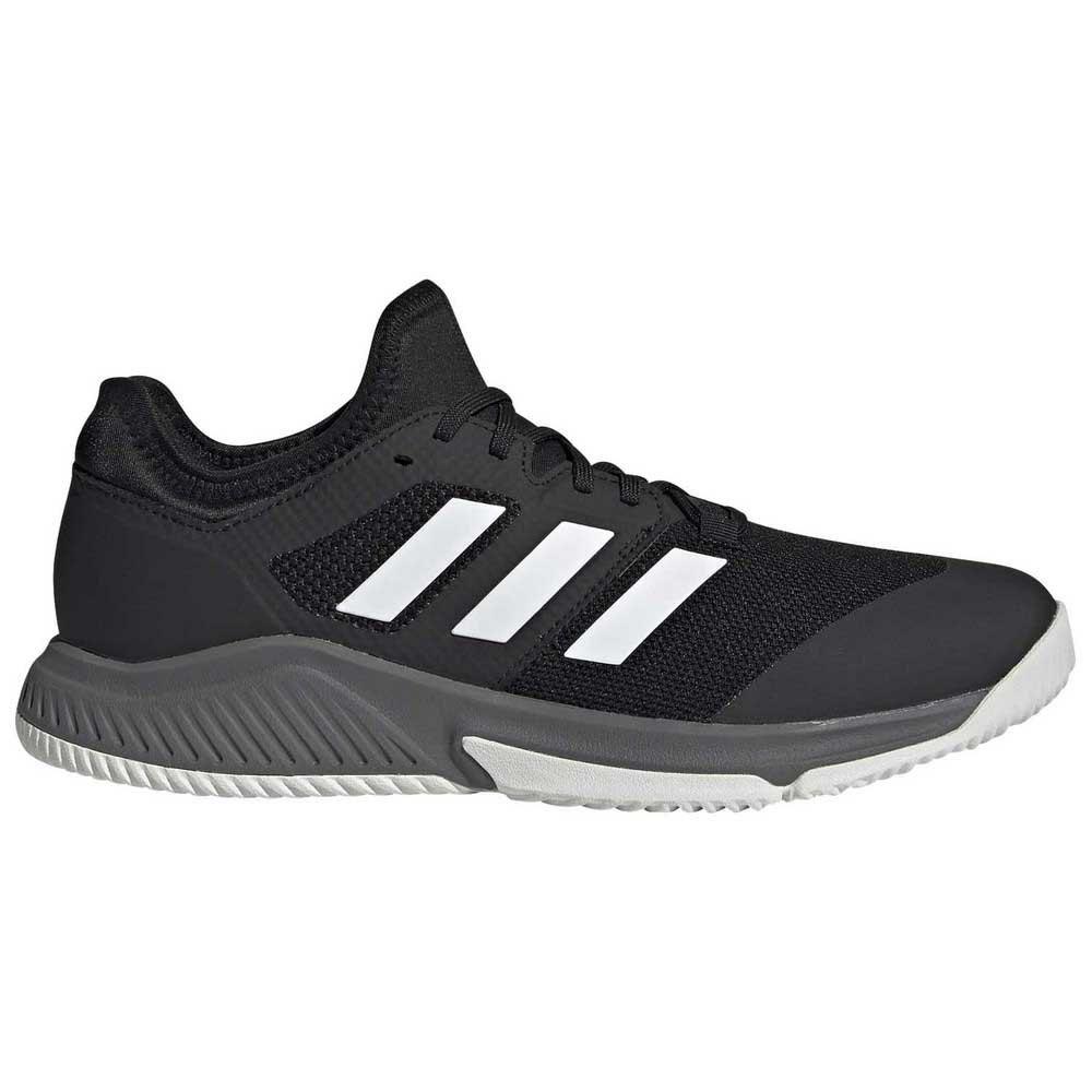 Adidas Badminton Chaussures Indoor Court Team Balance EU 41 1/3 Black / Black