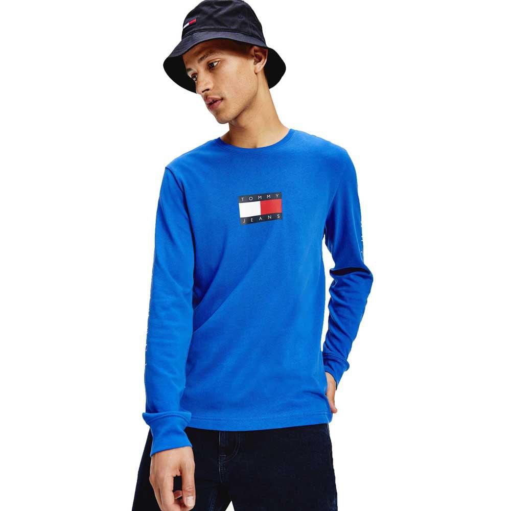 Tommy Jeans Box Flag L Providence Blue