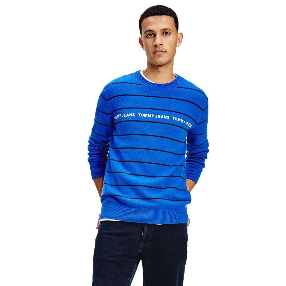 Tommy Jeans Light Blend Stripe M Providence Blue / Multi