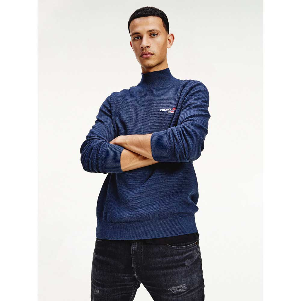 Tommy Jeans Small Logo M Twilight Navy Heather