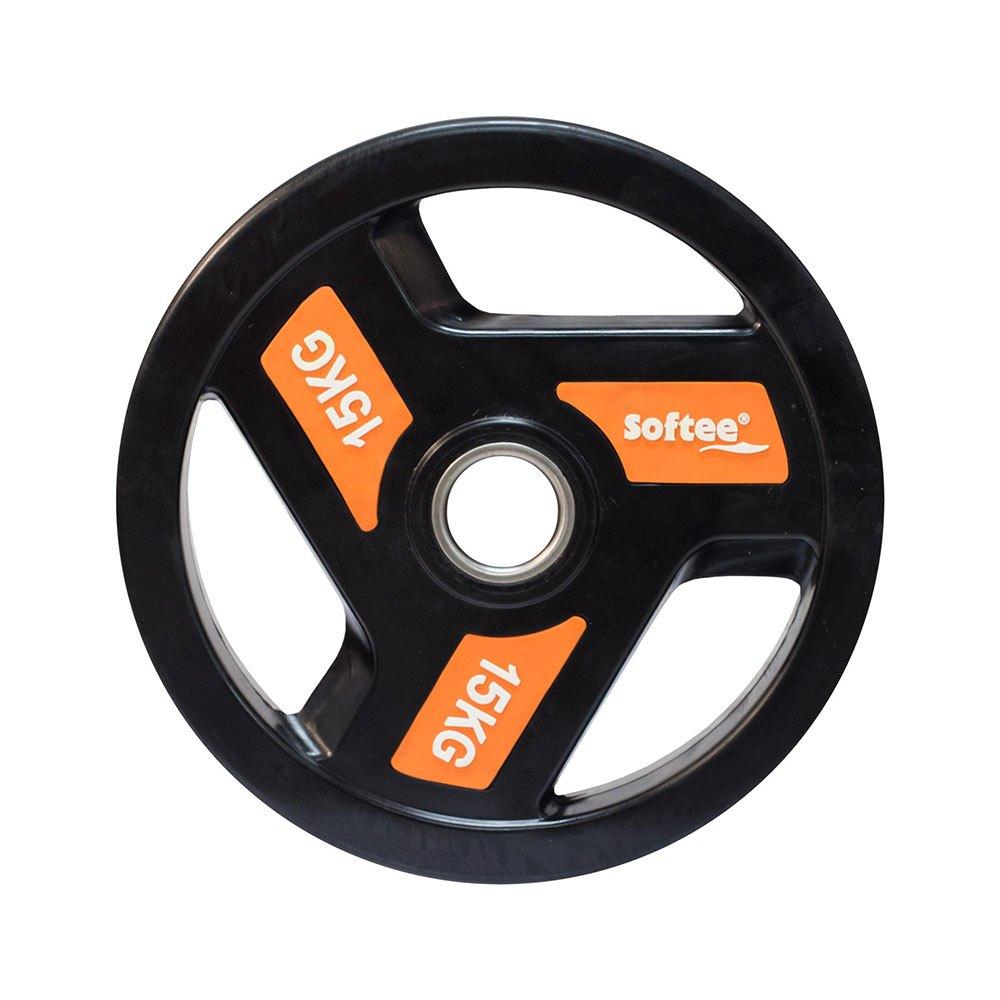 Softee Olympic Disc 15 Kg 15 kg Black