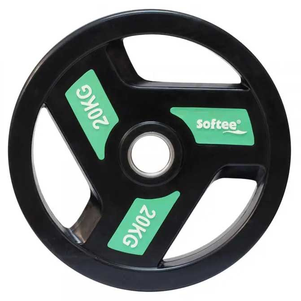 Softee Olympic Disc 20 Kg 20 kg Black