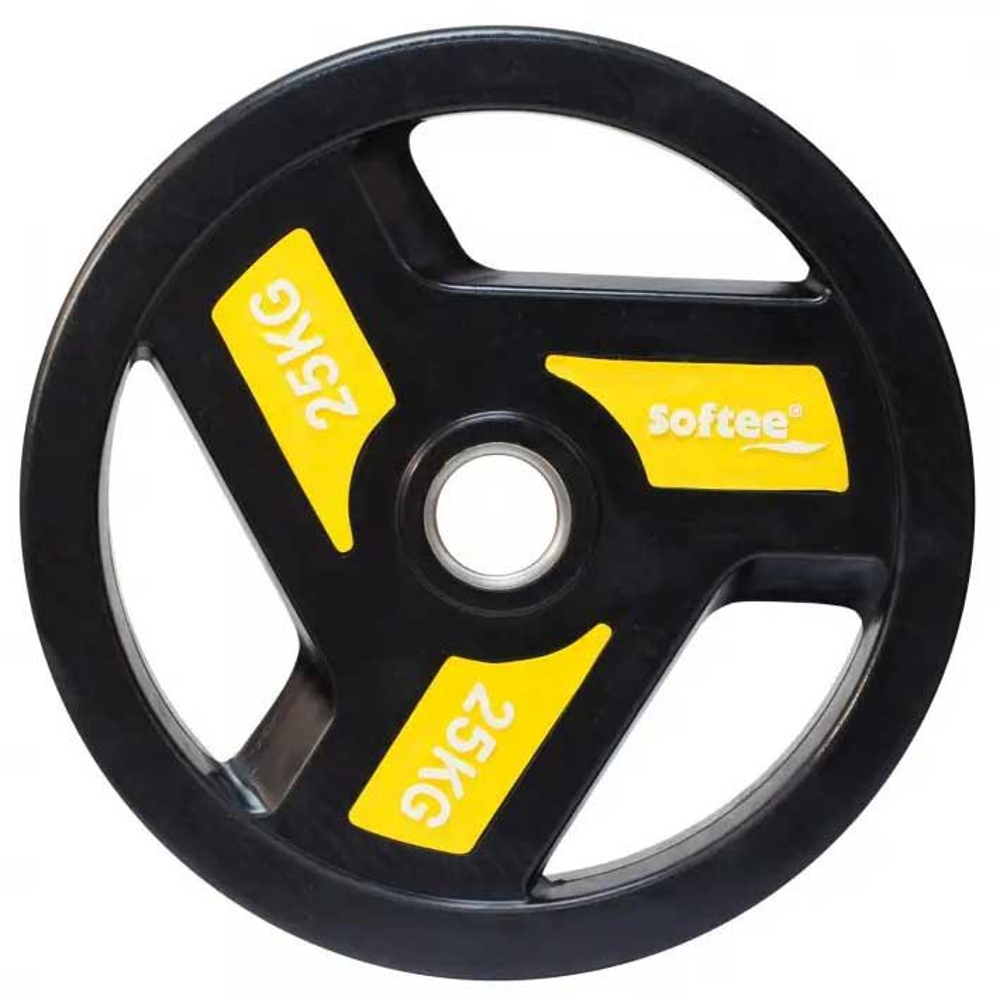 Softee Olympic Disc 25 Kg 25 kg Black