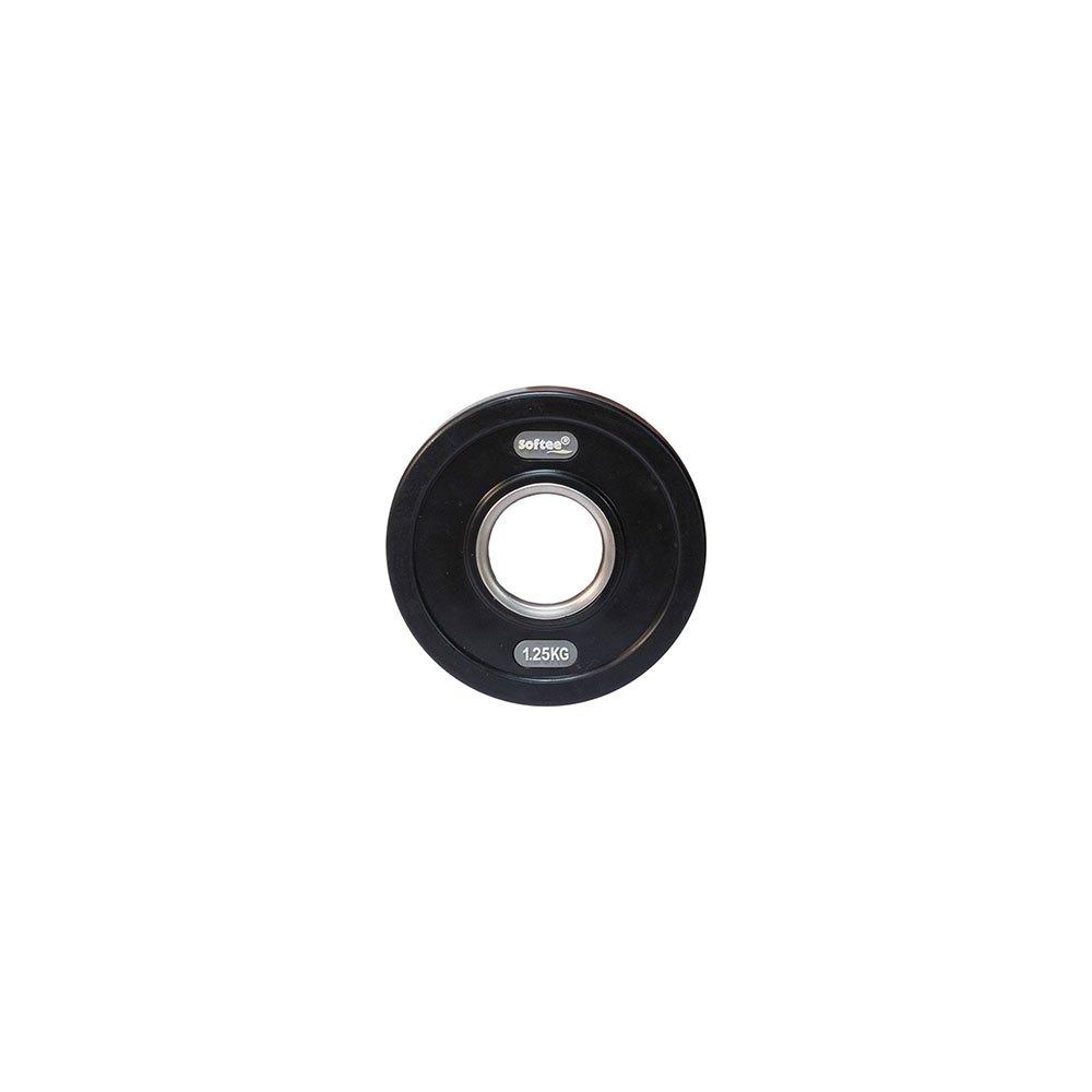 Softee Olympic Disc 1.25 Kg 1.25 kg Black