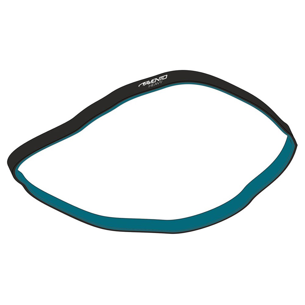 Avento Latex Resistance Band Strong Black / Blue
