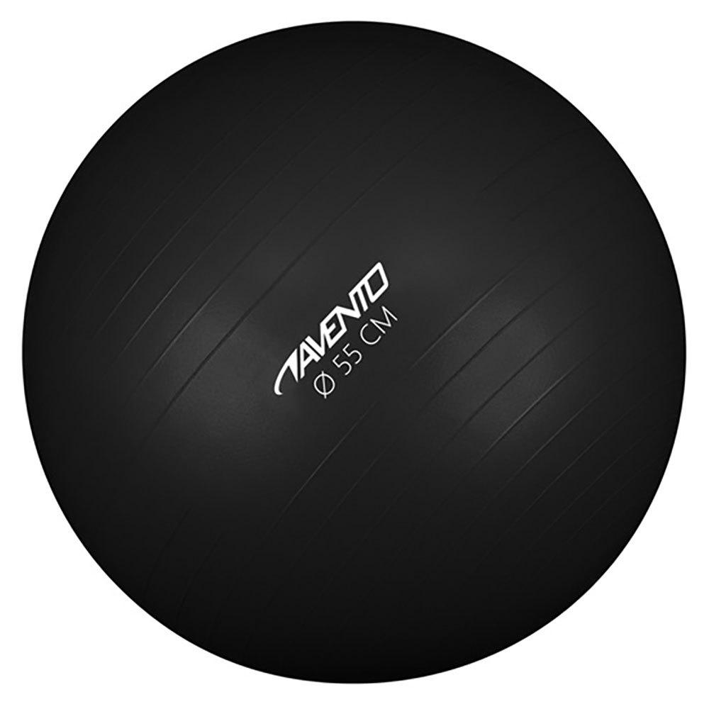 Avento Gymnastics 55 Cm 65 cm Black