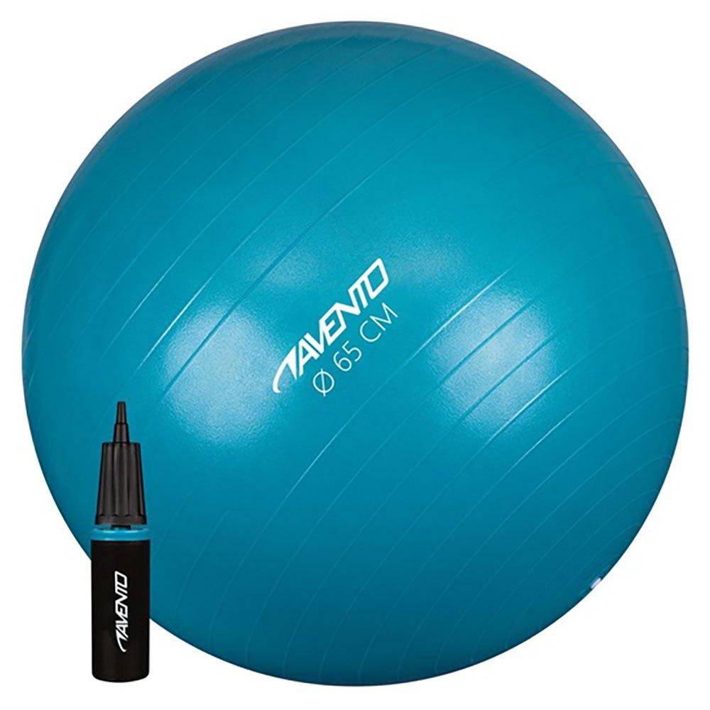 Avento Fitness/gym Ball 55 cm Blue