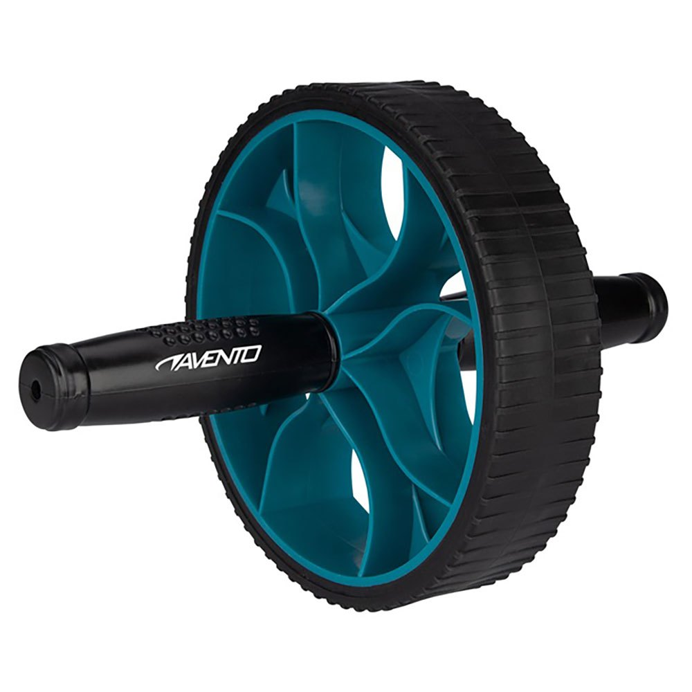 Avento Power Ab Roller One Size Black / Blue