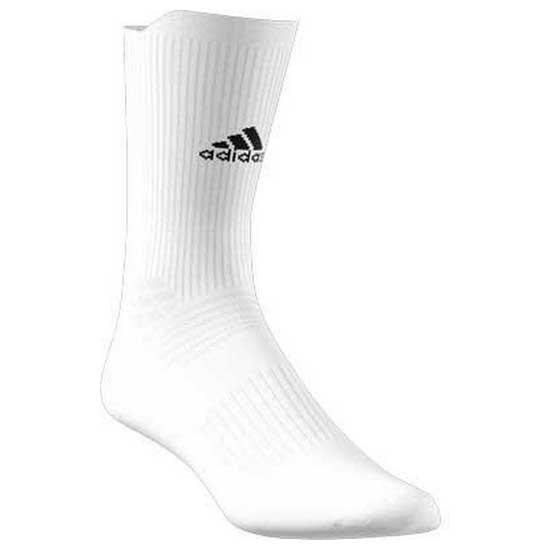 Adidas Badminton Ask Crew EU 34-36 White / Black / White