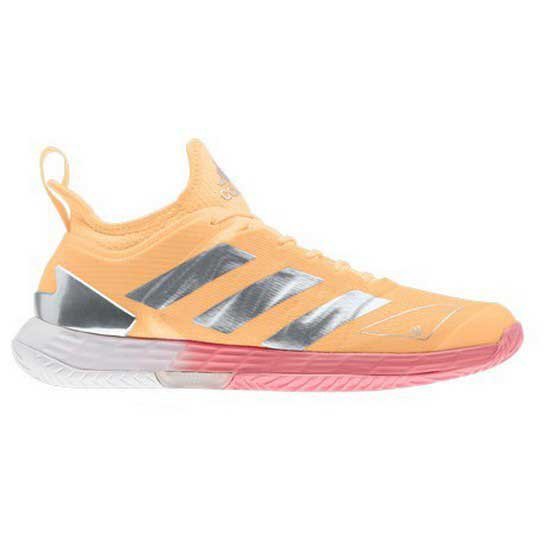 Adidas Badminton Adizero Ubersonic 4 EU 39 1/3 Acid Orange / Silver Met / Hazy Rose