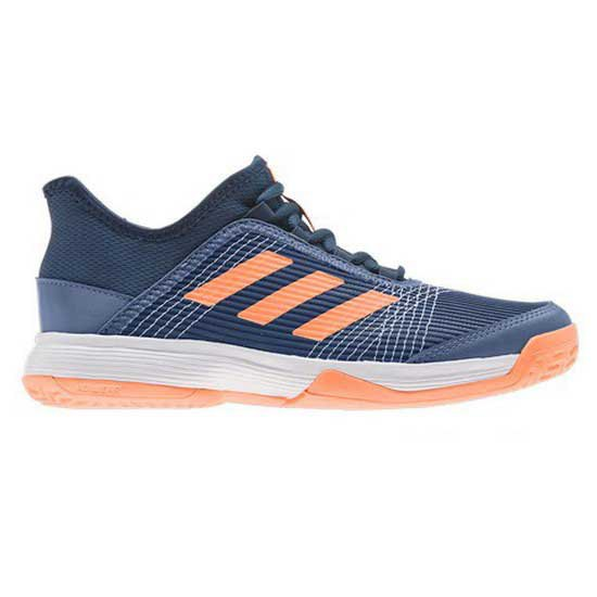 Adidas Badminton Adizero Club EU 31 1/2 Crew Blue / Screaming Orange / Crew Navy