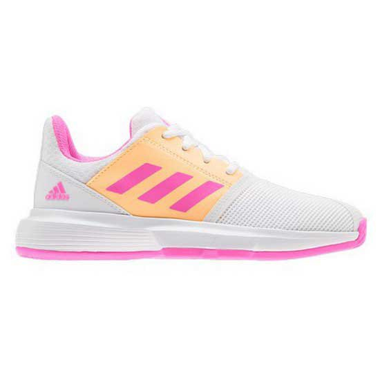Adidas Badminton Court Jam EU 38 Ftwr White / Screaming Pink / Acid Orange
