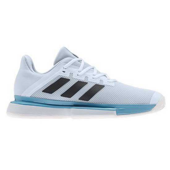 Adidas Badminton Sole Match Hard Court EU 46-48 Ftwr White / Core Black / Halo Blue