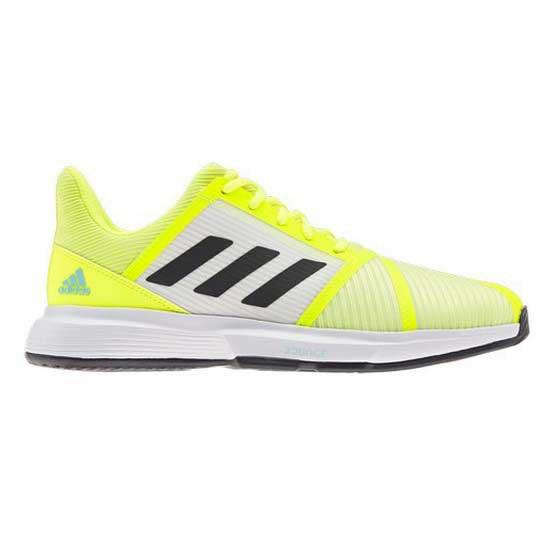 Adidas Badminton Court Jam Bounce Hard Court EU 42 Yellow