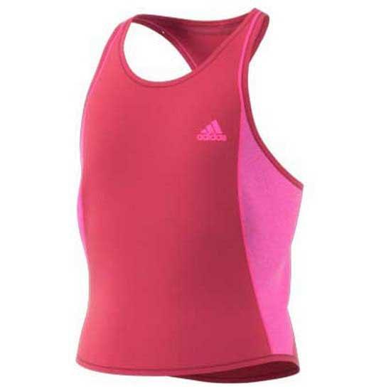 Adidas Badminton T-shirt Sans Manches Pop Up 152 cm Wild Pink / Screaming Pink