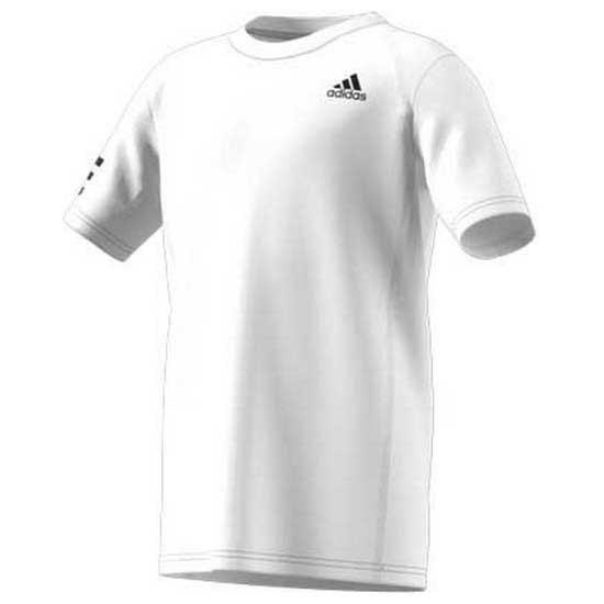 Adidas Badminton Club 3 Stripe 11-12 Years White / Black