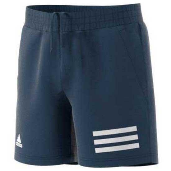 Adidas Badminton Club 3 Stripe 11-12 Years Crew Navy / White