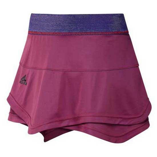 Adidas Badminton Match Primeblue Jupe L Scarlet / Semi Night Flash