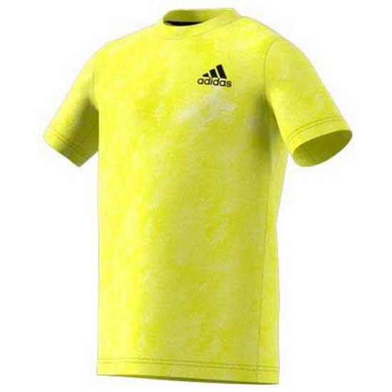 Adidas Badminton Oz 11-12 Years Acid Yellow / Wild Pine / White