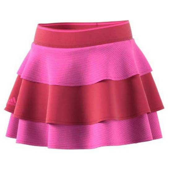 Adidas Badminton Pop Up Jupe 164 cm Screaming Pink / Wild Pink
