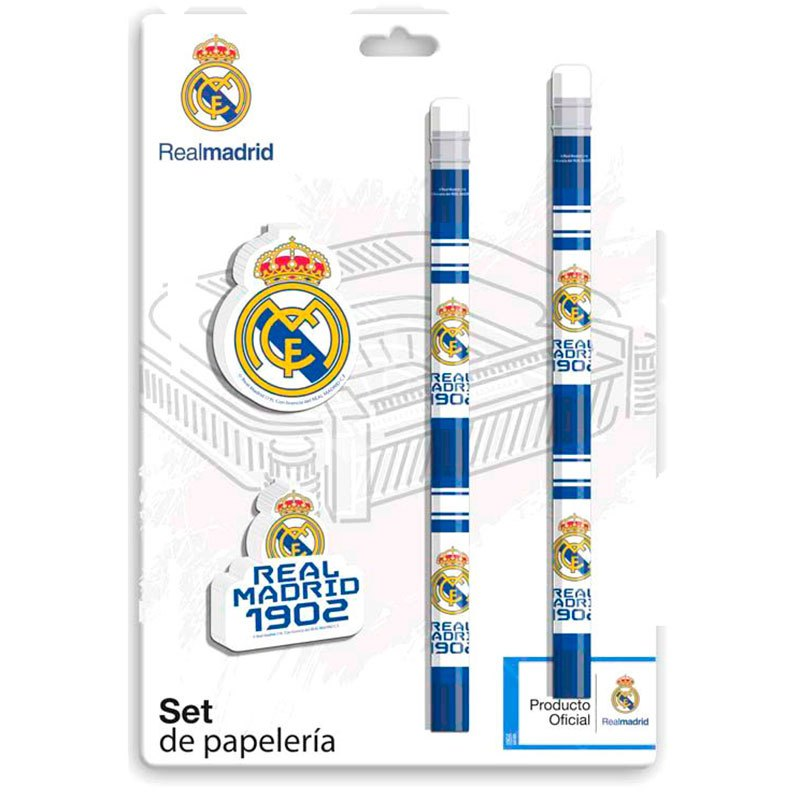 Cyp Brands Set Real Madrid One Size White / Blue