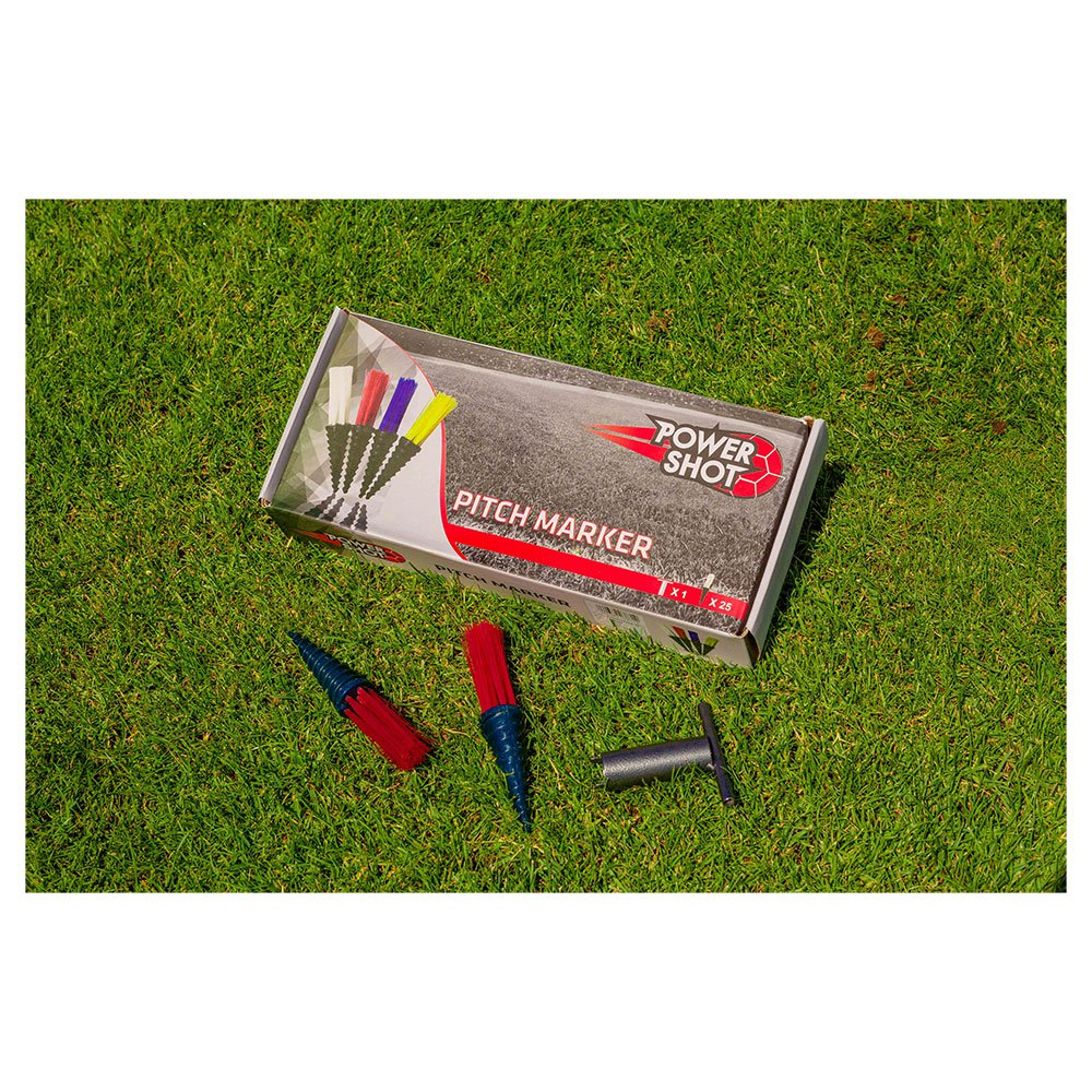 Powershot Pitch Marker 25 Units One Size Red
