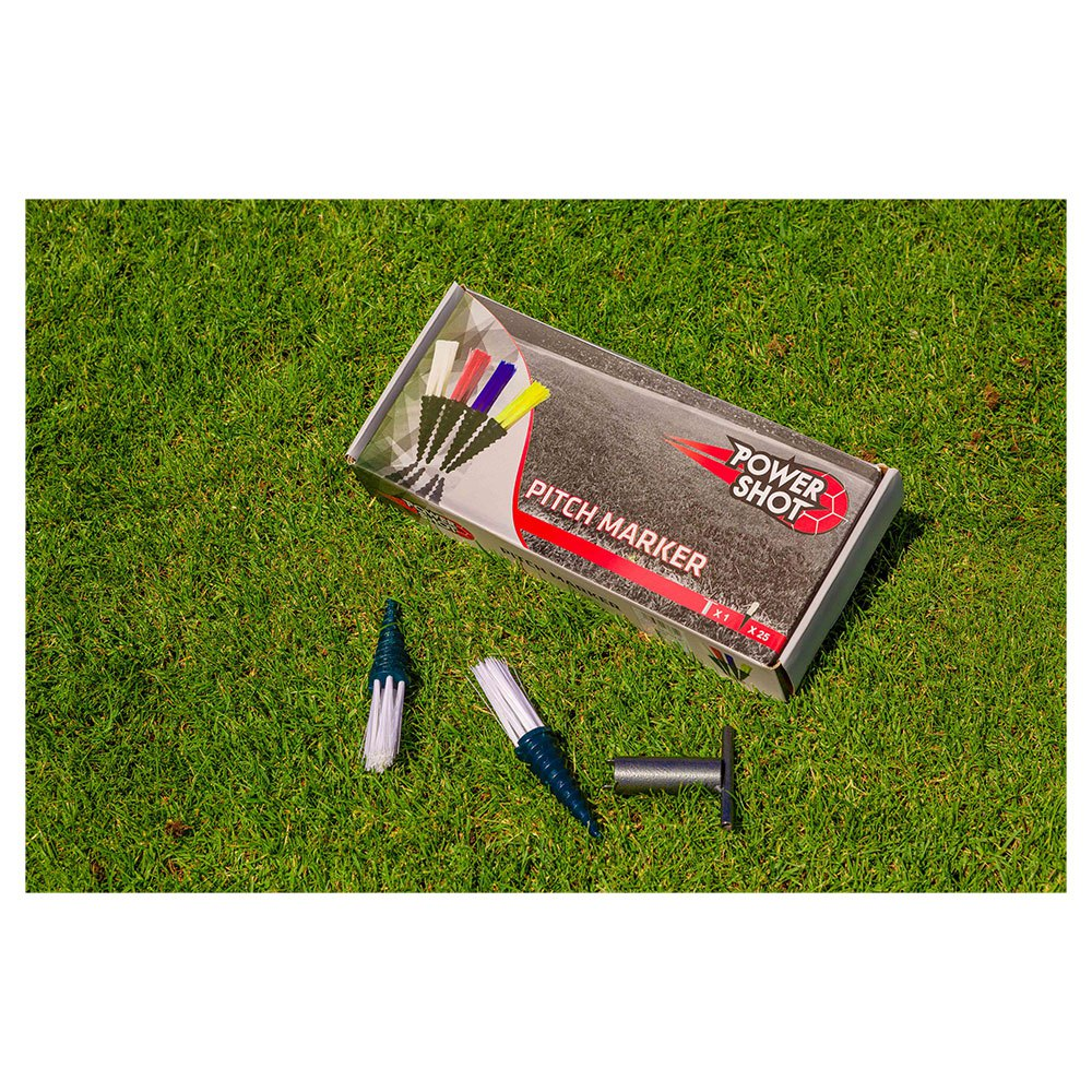 Powershot Pitch Marker 25 Units One Size White