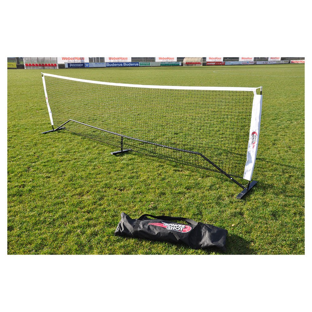 Powershot Football Tennis Set 4 x 1.1 m Black