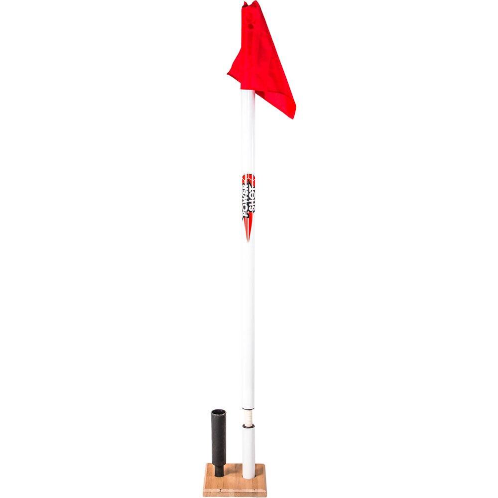 Powershot Corner Flag Set One Size Red