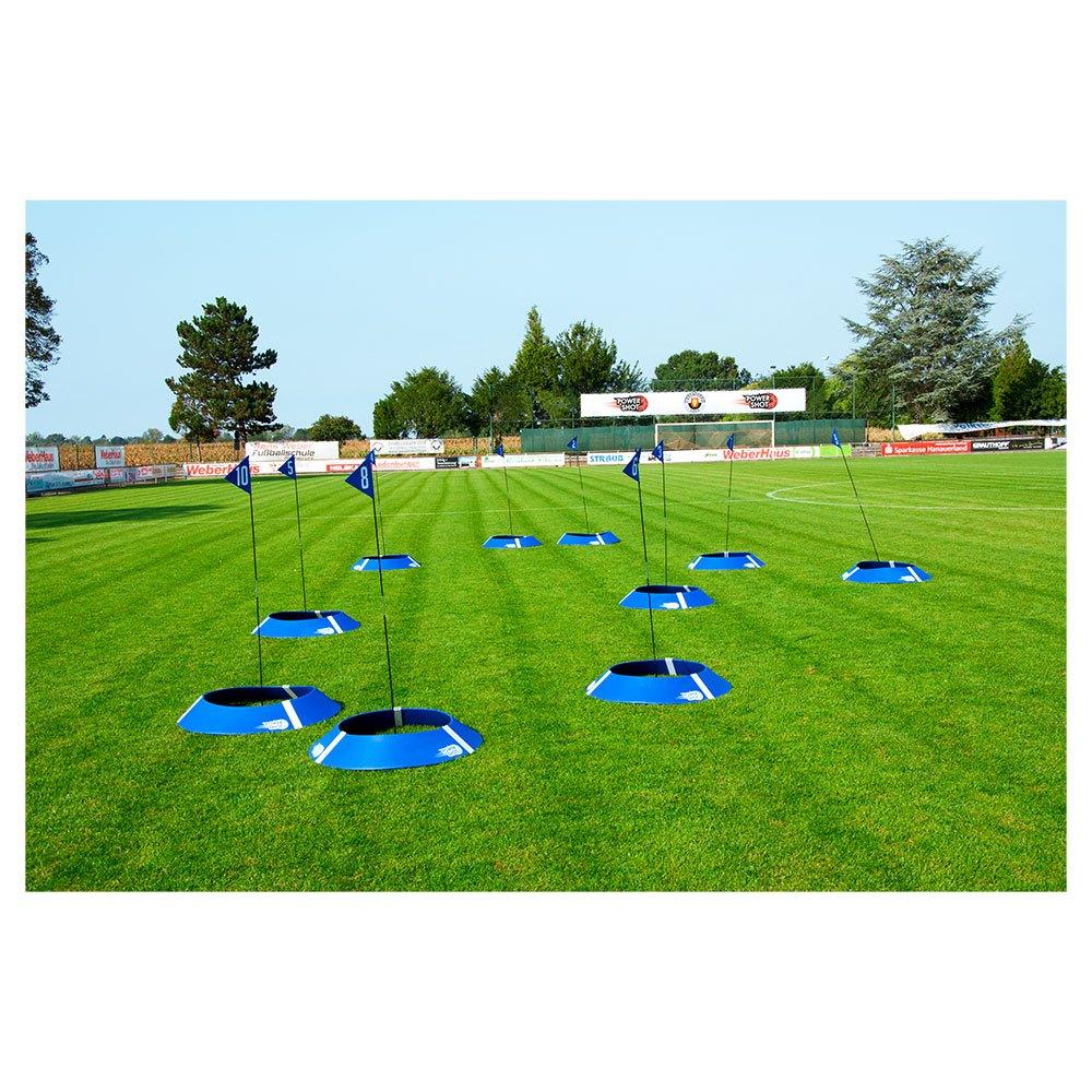 Powershot Objectif Football/golf 10 Unités One Size Black / Blue