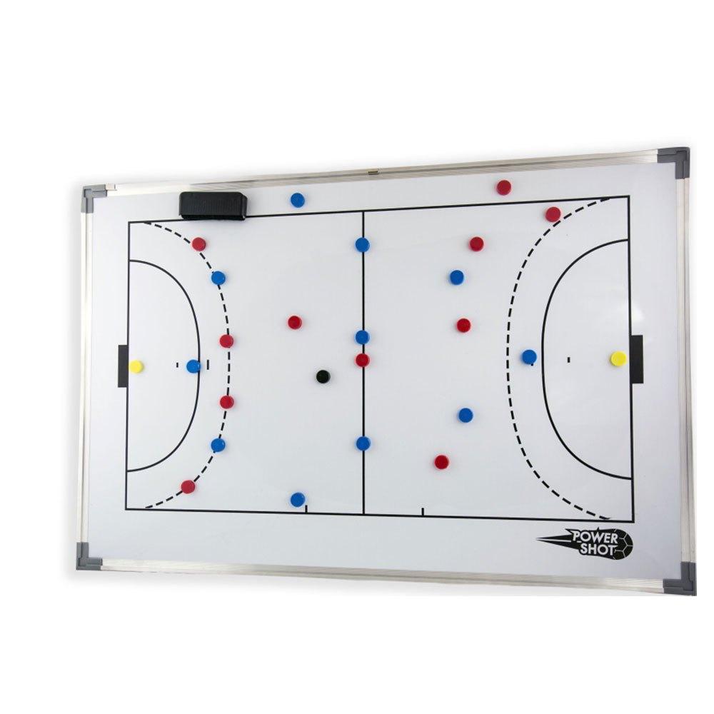 Powershot Futsal/handball 60 x 90 cm White